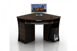 Угловой компьютерный стол КС-2 Сокол - Мебельная фабрика «Ная»