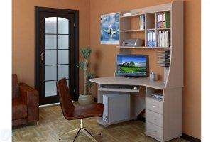 Угловой компьютерный стол ВасКо ОКМ - Мебельная фабрика «OKMebell»