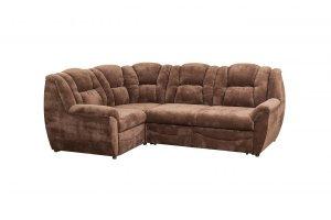 Угловой коричневый диван - Мебельная фабрика «Тылибцева», г. Ижевск