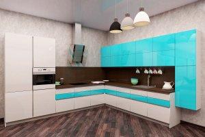 Угловой кухонный гарнитур Фреш - Мебельная фабрика «Акварель»