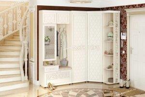 Угловой набор мебели для прихожей Тиффани 1 - Мебельная фабрика «Витра»
