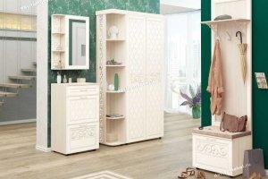 Угловой набор мебели для прихожей Тиффани 2 - Мебельная фабрика «Витра»