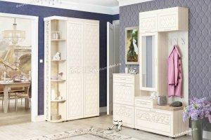 Угловой набор мебели для прихожей Тиффани - Мебельная фабрика «Витра»