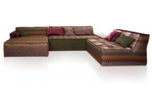 Угловой П-образный диван Бали - Мебельная фабрика «ИСТЕЛИО»