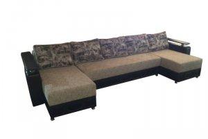 Угловой П-образный диван Комфорт - Мебельная фабрика «Мир Комфорта»
