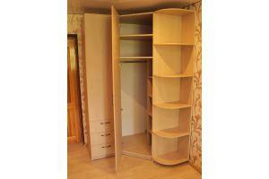 Угловой распашной шкаф - Мебельная фабрика «Santana»