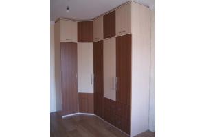 Угловой распашной шкаф - Мебельная фабрика «Формула уюта»