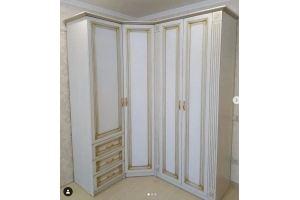 Угловой распашной шкаф - Мебельная фабрика «Меркурий»