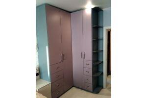 Угловой распашной шкаф - Мебельная фабрика «SamSam»