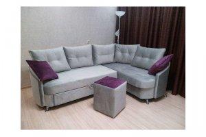 Угловой серый диван - Мебельная фабрика «Ритм»