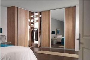 Угловой шкаф-купе с зеркалом - Мебельная фабрика «Подольск»