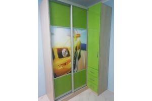 Угловой шкаф-купе в детскую - Мебельная фабрика «KODMI-мебель»