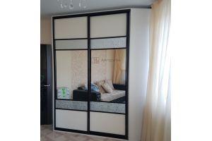 Угловой шкаф-купе в гостиную - Мебельная фабрика «Алгоритм»
