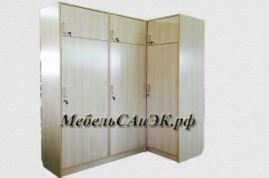 Угловой шкаф ЛДСП 0036 - Мебельная фабрика «САнЭК»