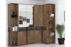 Угловой шкаф Лофт - Мебельная фабрика «ДЕЛИС»