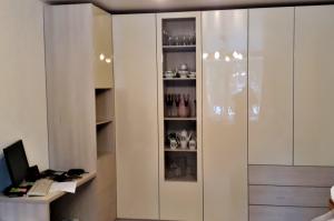 Угловой шкаф с тумбой - Мебельная фабрика «ЛюксФорМи»