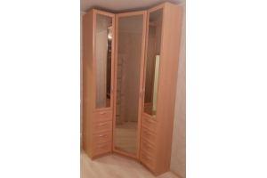 Угловой шкаф с зеркалами - Мебельная фабрика «Радуга-Мебель»