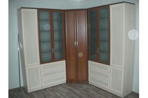 Угловой шкаф в гостиную - Мебельная фабрика «Астро»