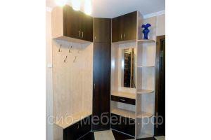 Угловой шкаф в прихожую 59  - Мебельная фабрика «Сиб-Мебель»