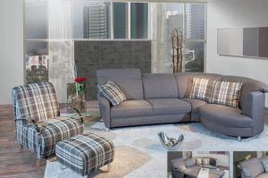Угловой тканевый диван Bernd - Импортёр мебели «Рес-Импорт»