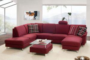 Угловой тканевый диван Claus - Импортёр мебели «Рес-Импорт»
