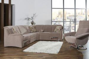 Угловой тканевый диван Lara - Импортёр мебели «Рес-Импорт»