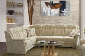 Угловой тканевый диван Plauen - Импортёр мебели «Рес-Импорт»