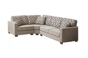 Угловой тканевый диван Поло - Мебельная фабрика «SID Диваны»