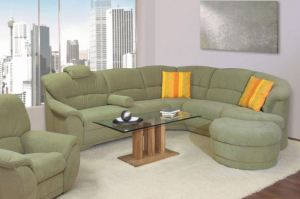Угловой тканевый диван Rom-Soft - Импортёр мебели «Рес-Импорт»