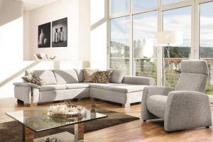 Угловой тканевый диван Samoa - Импортёр мебели «Рес-Импорт»