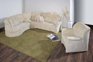 Угловой тканевый диван Zwickau - Импортёр мебели «Рес-Импорт»