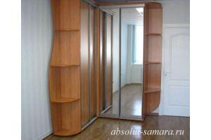 Угловой удобный шкаф-купе - Мебельная фабрика «Абсолют»
