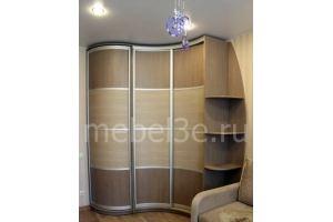 Угловой встроенный шкаф - Мебельная фабрика «ТРИ-е»