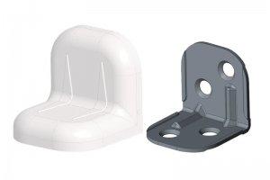Уголок крепежный мебельный - Оптовый поставщик комплектующих «Лидер-МС»