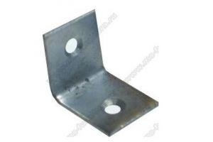 Уголок мебельный металл 25х25х20, 2 отв - Оптовый поставщик комплектующих «Модерн-Стиль А»