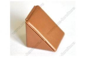Уголок монтажный пластиковый Орех №1 - Оптовый поставщик комплектующих «Модерн-Стиль А»