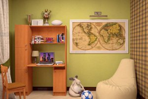 Стол письменный Уголок школьника 2 - Мебельная фабрика «ТФМ XXI»