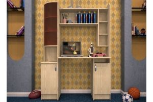 Стол письменный Уголок школьника 3 - Мебельная фабрика «ТФМ XXI»