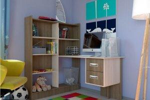 Уголок школьника-4 - Мебельная фабрика «Империя»