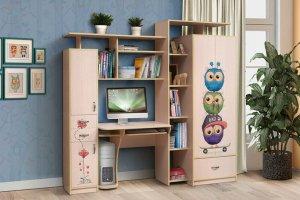 Уголок школьника Мега 3 Совушки - Мебельная фабрика «СКИФ»