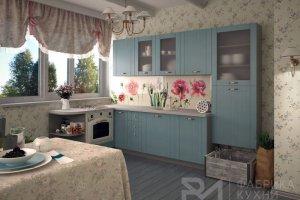 Уютная кухня из дерева ТОПОЛЬ СКАЙ - Мебельная фабрика «Фабрика кухни РМ»