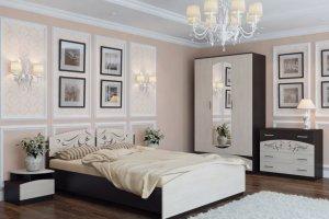 Уютная спальня Эдем-4 - Мебельная фабрика «Новосибирская Мебель»