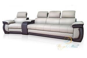 Уютный диван Айпетри Люкс - Мебельная фабрика «Петрамебель»