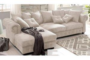 Уютный диван Честер с оттоманкой - Мебельная фабрика «Энигма»