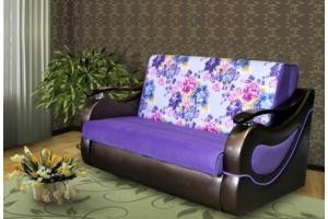 Уютный фиолетовый диван Феррара - Мебельная фабрика «Отис», г. Ульяновск