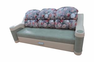Уютный прямой диван - Мебельная фабрика «Орхидея»