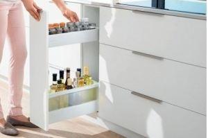 Выдвижная система Узкий шкаф - Оптовый поставщик комплектующих «Blum»