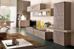 В гостиную стенка GOS 002 Премиум - Мебельная фабрика «Мебель и Я»