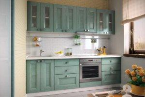 Вариант кухни из эко-шпона Alleanza - Мебельная фабрика «Елиза»