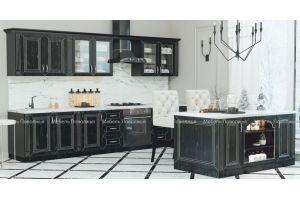 Кухня с островом Вавилон - Мебельная фабрика «Мебель Поволжья»
